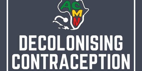 Decolonising Contraception tickets