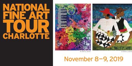 National Fine Art Tour: Charlotte - Gallery Tour + Artist Talk