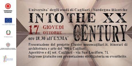 INTO THE TWENTY CENTURY biglietti