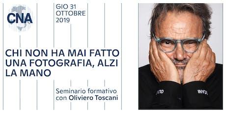 Seminario formativo con Oliviero Toscani biglietti