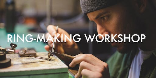 SILVER FORGING JEWELLERY WORKSHOP - MAKE A RING OR PENDANT
