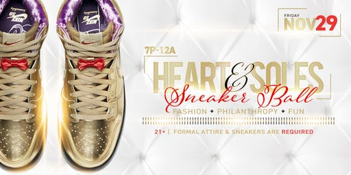 Heart and Soles Sneaker Ball