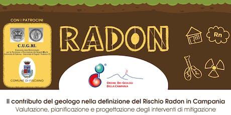 Il contributo del geologo nella definizione del Rischio Radon in Campania biglietti