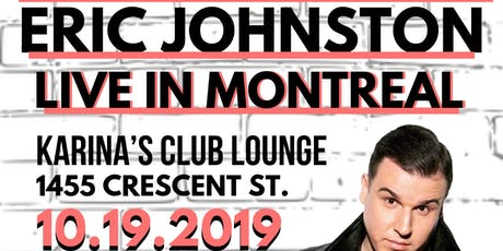 AS SEEN ON JFL, THE HILARIOUS ERIC JOHNSTON COMEDY TOUR tickets