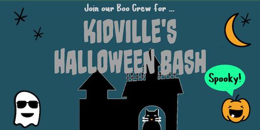 Kidville's Halloween 2019 Bash!