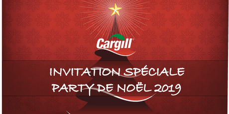 SOIRÉE DE NOËL CARGILL  2019 billets