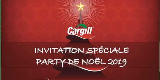 SOIRÉE DE NOËL CARGILL  2019