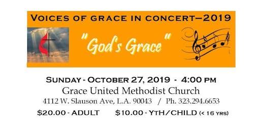 """Voices Of Grace Concert 2019 - """"God's Grace"""""""