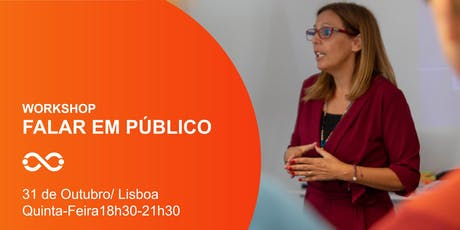 Workshop Falar em Público - Lisboa - 31 de Outubro bilhetes