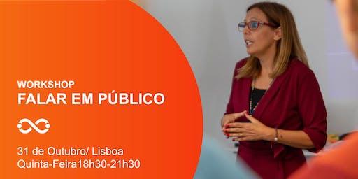 Workshop Falar em Público - Lisboa - 31 de Outubro