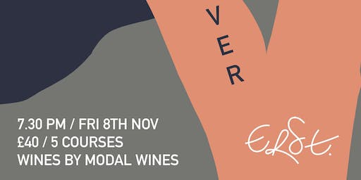 ANGLOTHAI TAKEOVER  // MODAL WINES @ ERST