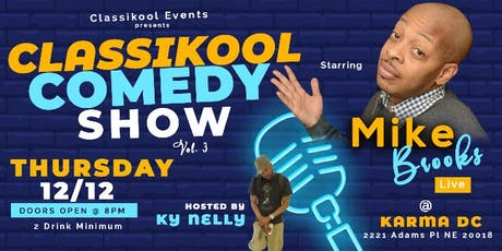 CLASSIKOOL COMEDY SHOW VOL.3 tickets