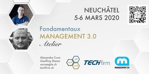 Atelier Fondamentaux de Management 3.0 avec Geoffrey et Alexandre