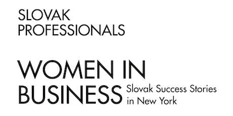 Women in Business: Slovak Success Stories in New York Tickets