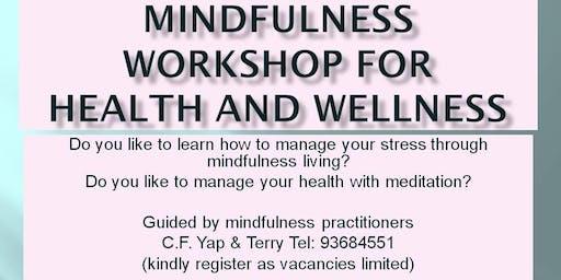Mindfulness & Meditation Workshop