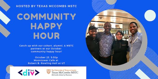 DivInc Community Happy Hour hosted by MSTC