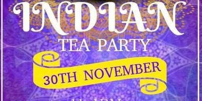 Indian Tea Party 2pm - 4pm