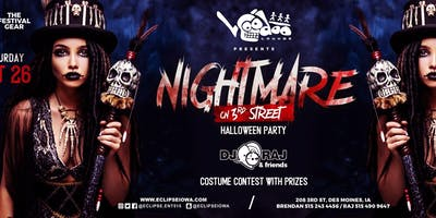 Nightmare on 3rd Street: A Halloween Party with DJ RAJ