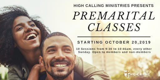 High Calling Ministries Pre-Marital Counseling Class