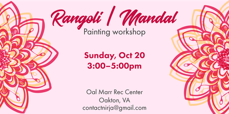 Rangoli | Mandal painting workshop tickets