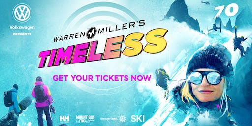 "Volkswagen presents Warren Miller Entertainment's 70th Film ... ""Timeless"""
