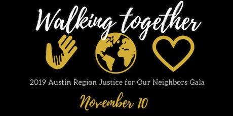 2019 Gala: Walking Together tickets