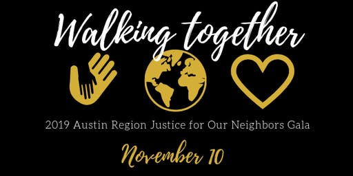 2019 Gala: Walking Together