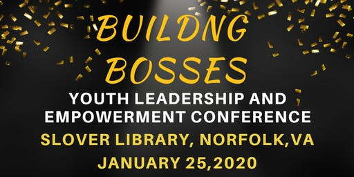 Vision Driven presents Building Bosses Youth Leadership & Empowerment
