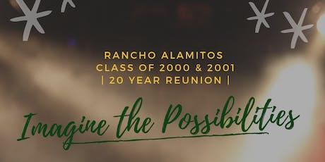 RA High School '00 & '01 | 20 Year Reunion tickets