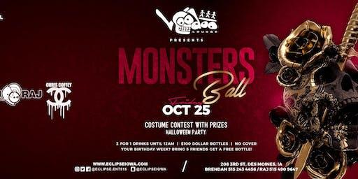 Monsters Ball at Voodoo Lounge with DJ RAJ and Chris Coffey