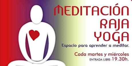 CLASE GRATUITA: MEDITACIÓN RAJA YOGA tickets