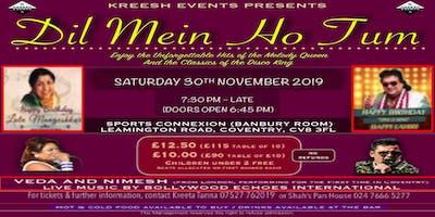 Bollywood Event - Dil Mein Ho Tum