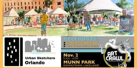 Sketch-crawl at Lakeland's Art-Crawl Festival tickets