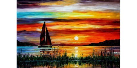 """LBTQ Sip n Paint """"A Sunset"""" at Boxers HK on November 19 (2019-11-19 starts at 6:15 PM) tickets"""
