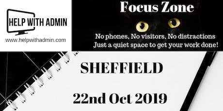 Focus Zone - Sheffield tickets