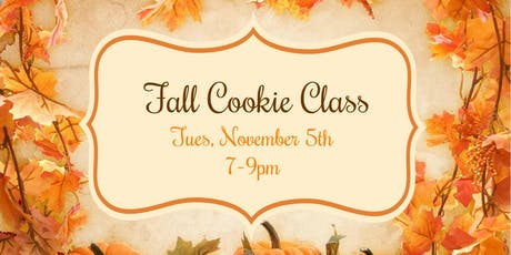 Fall Beginner Cookie Class tickets