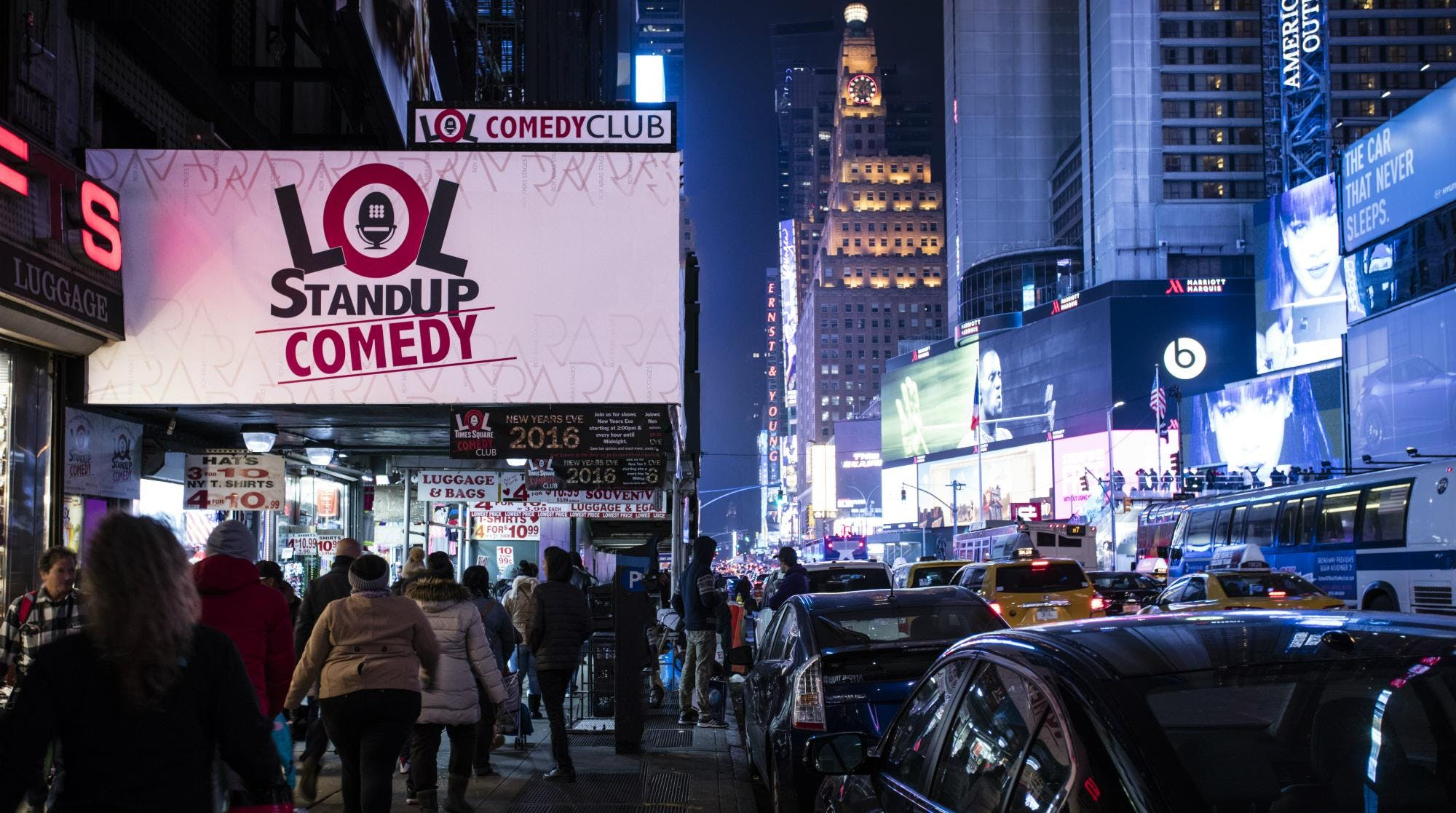 LOL Times Square Comedy Club - NYC Comedy Clubs