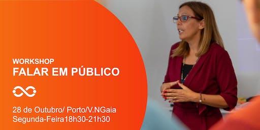 Workshop Falar em Público  - Porto - 28 de Outubro