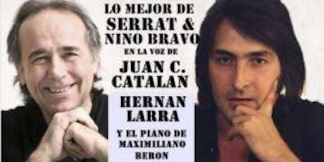 Cena show Tributo a Serrat y Nino Bravo en Los Floristas entradas