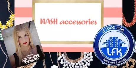 Sip & Shop with NASH accessories  tickets