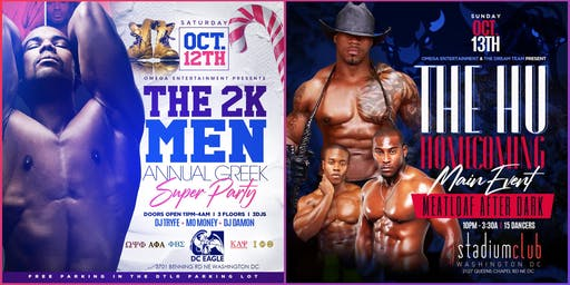 HU HOMECOMING MAIN EVENT GRAND FINALE, THE MEATLOAF AFTER DARK TONIGHT