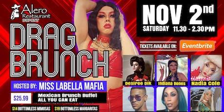 Alero Sassy Drag Brunch 11/02/19 tickets
