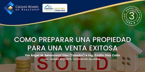 Seminario: Como preparar una propiedad para una venta exitosa