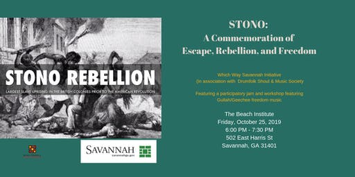 Stono: A commemoration of Escape, Rebellion, and Freedom