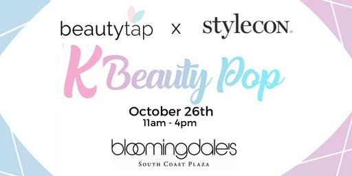 Beautytap & StyleCon Present  K Beauty Pop at Bloomingdale's
