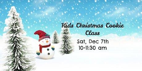 Kids Christmas Cookie Class tickets
