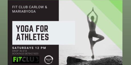 Athletes Yoga tickets