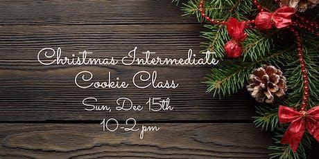 Christmas Intermediate Cookie Class tickets