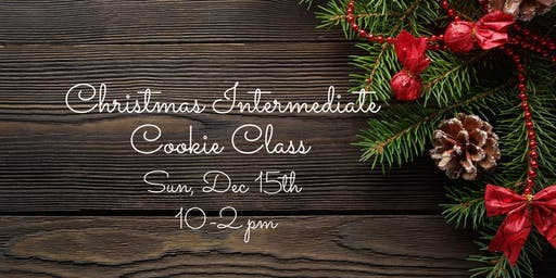 Christmas Intermediate Cookie Class