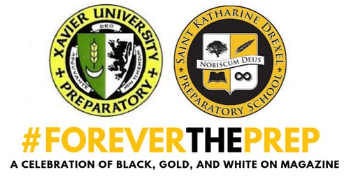 #FOREVERTHEPREP A Celebration of Black, Gold, and White on Magazine